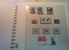 NORWAY COLLECTION OF 1971-1985 USED +**, WITH BLOCKS WITH ORIGINAL ALBUM 31PAGES