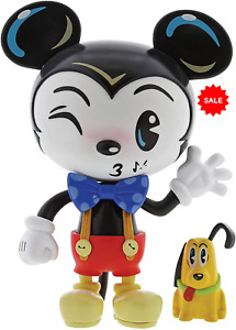 Disney Showcase Collection Vinyl Figurine Miss Mindy Mickey Mouse Pluto