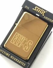 Elvis Presley Star Gold Petrol Lighter (T23)
