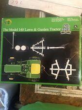 MIB ERTL RC2 1/16 JOHN DEERE MODEL 140 PRECISION 2 LAWN & GARDEN TRACTOR  W/Impl