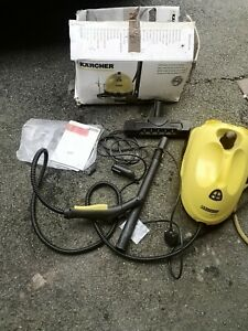 karcher sc1020 steam cleaner. Working but presher come out from. Led. For part o