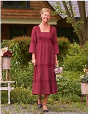 aprilcornell Portia Dress romantic peasant style size XL