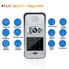 Wireless Wifi Remote Video Camera Phone Visual Intercom Door Bell Night Version