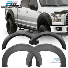 Fits 15-18 Ford F150 Extended Crew Cab Pickup Pocket Fender Flares PP Textured