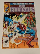 The Eternals #5 February 1986 Marvel Comics MOVIE Coming KEY