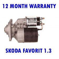 Skoda favorit felicia 1.3 1.6 1989 1990 - 2002 starter motor 12 month warranty