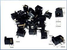 10 PCS DC Power Supply Jack Socket Female PCB Mount Connector 5.5 x 2.5mm