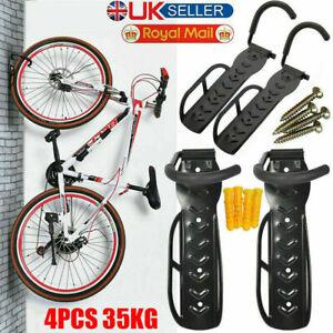 1pc to 12pc Bike Storage Rack Hook Wall Mount Garage Bicycle Hanger Stand Holder