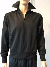 Matrix Blend of America Herren-Sport-, Fitness-Jacke, schwarz mit Muster, M