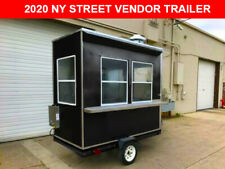 New 4x8 Ny Concession Food Trailer Hot Dog Cart, Coffee, Gyro, Subs 6x10