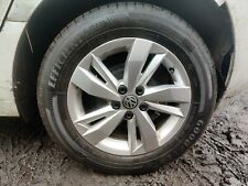 """2017-20 Volkswagen Polo SE AW Mk6 ~ 15"""" Alloy Wheel & (Nearly New) Goodyear Tyre"""