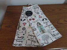 Cynthia Rowley Set of 2 ~ Inspiring Reminders ~ 100% Cotton Kitchen Towels NEW