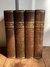 The Works of William Shakespeare Complete 4 VolumesOdhams Press -- c.1930
