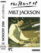 Milt Jackson The Best Of Milt Jackson CASSETTE ALBUM JAZZ Hard Bop