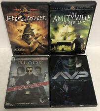 Horror/SciFi Movie Lot(4) Dvd Jeepers Creepers, Avp, Blade Trinity, Amityville