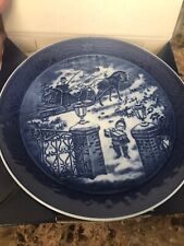 New Royal Copenhagen 2003 Christmas Plate