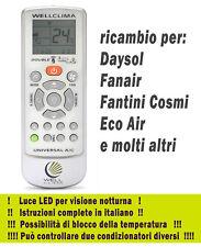 Telecomando per condizionatore Daysol Fanair Fantini Cosmi Eco Air climatizzator
