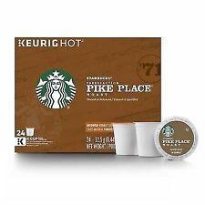 Starbucks Pike Place Medium Roast Coffee K-Cups - 24 Count