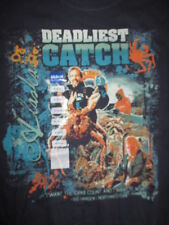 """DEADLIEST CATCH """"I want CRAB Count and I want it now!"""" (MED) T-Shirt w/ Tags"""