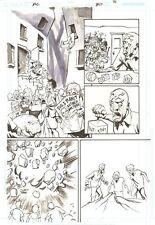 Action Comics #857 p.21 - Bizarro Brainiac - 2007 art by Eric Powell