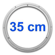 Drehkranz Ø 350mm Aluminium | Drehlager Drehteller Drehscheibe Lenkkranz Alu
