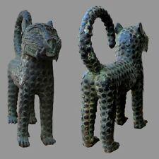 Panthere du Benin en bronze