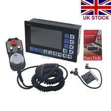 CNC 4 Axis 500KHz Motion Offline Controller System+MPG Handwheel Engraving UK##
