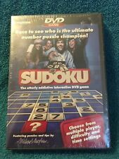 Sudoku DVD GAME IMAGINATION THE UTTERLY ADDICTIVE INTERACTIVE DVD GAME