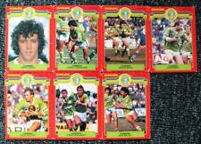 Scanlens Original 1986 Season NRL & Rugby League Trading Cards