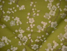 13y VALDESE BEAUTIFUL CHERRY BLOSSOM PEAR FLORAL CHENILLE UPHOLSTERY FABRIC