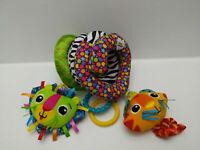 Lamaze Spiral Cat & Lion Sensory Activity Toy - 0 to 6 Months - New Without Tag