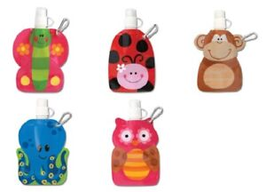 Party Bag Toys Gifts 10 Girls Boys Kids Childrens Little Squirts Pouches Animals