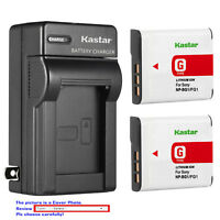 Kastar Battery Wall Charger for Sony NP-BG1 NPBG1 & Cyber-shot DSC-T100 Camera