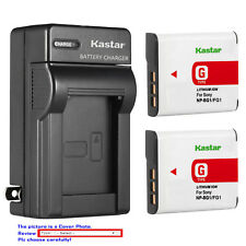 Kastar Battery Wall Charger for Sony NP-BG1 NP-FG1 & Sony Cyber-shot DSC-W70
