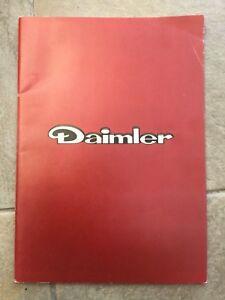 Daimler Sovereign Double Six DS420 Limousine 1981-82 UK Market Sales Brochure
