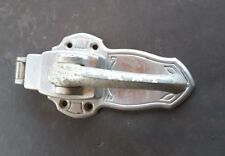 Vintage refrigerator door latch
