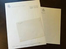 Hotel Rabat Hilton Vintage Stationary Letters Note Pad & Envelope, unused