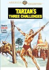 TARZAN'S THREE CHALLENGES(1963 Jock Mahoney)  Region Free DVD - Sealed