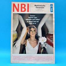 DDR NBI 15/1965 Diskusfisch Nicaragua Bademode Raumfahrt-Medizin Magdeburg P