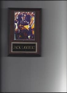 JACK LAMBERT PLAQUE PITTSBURGH STEELERS FOOTBALL NFL