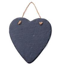 NEW GIFT - SLATE HEART CHALK KITCHEN MEMO / NOTICE BLACK BOARD