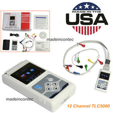 24 Hours 12 Leads ECG Holter Real Time Dynamic ECG Systems,PC Software,TLC5000
