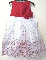 MARMELLATA TODDLER SPECIAL OCCASION RED HOLIDAY DRESS SIZE 2T NEW WITH TAGS