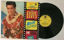 "Elvis Presley "" Blue Hawaii "" rare LP Original France label jaune RCA 430.363"