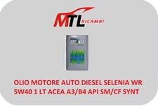OLIO MOTORE AUTO DIESEL SELENIA WR 5W40 1 LT ACEA A3/B4 API SM/CF SYNT