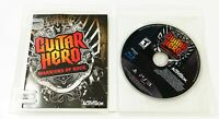 Guitar Hero: Warriors of Rock (Sony PlayStation 3, 2010) Complete PS3
