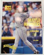 1991 Seattle Mariners Spring Training Magazine Ken Griffey, Jr. Mint Condition