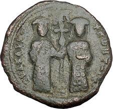Constantine X & Eudocia 1059AD Ancient Byzantine Coin Jesus Christ  i50099
