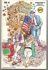 Overstreet's Comic Book Price Guide #6 Uncirculated NM- Eisner FREE S/H