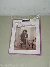 VINTAGE GREATFIT PANTYHOSE Med/Tall Navy Blue Great Fit in Package 17028